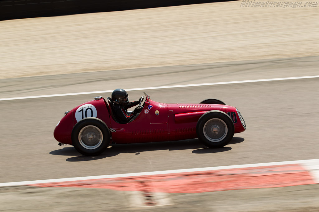 Maserati A6GCM - Chassis: 2033 - Driver: Julia de Baldanza  - 2015 Grand Prix de l'Age d'Or