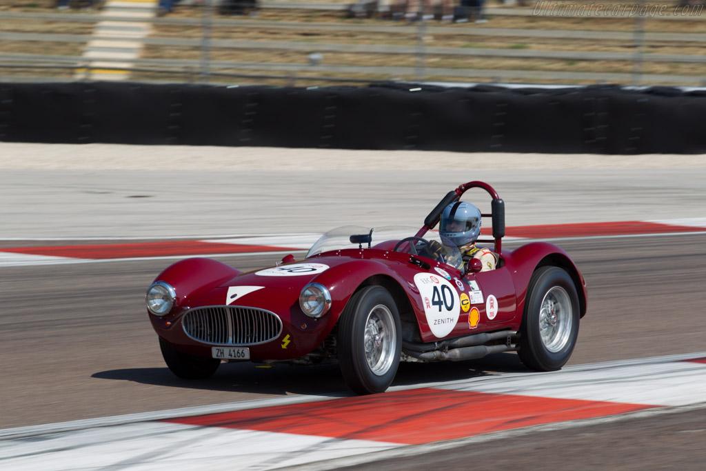 Maserati A6GCS/53 - Chassis: 2093 - Driver: Lukas Hüni  - 2015 Grand Prix de l'Age d'Or