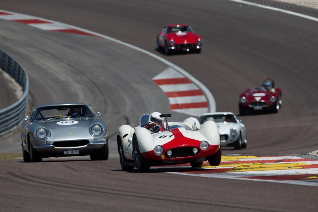 Maserati Tipo 61 Birdcage - Chassis: 2455 - Driver: Josef Rettenmaier  - 2015 Grand Prix de l'Age d'Or