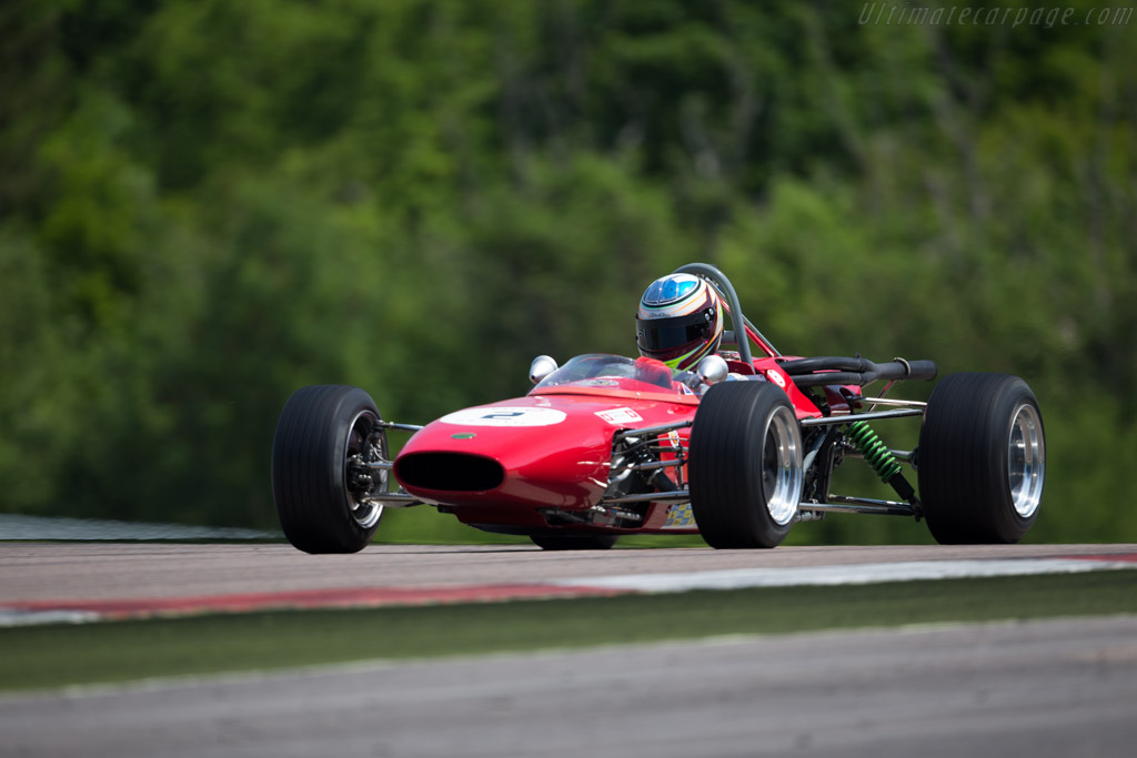 Merlyn Mk10 - Chassis: 87RLM - Driver: Louls Maulini  - 2015 Grand Prix de l'Age d'Or