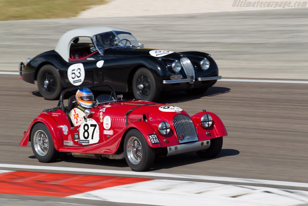 Morgan +4 - Chassis: 4156 - Driver: Adrian van der Kroft / Richard Plant  - 2015 Grand Prix de l'Age d'Or