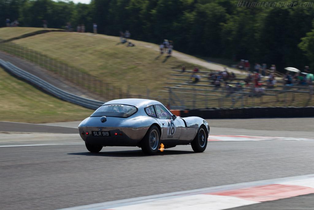 Morgan SLR - Chassis: SLR4 - Driver: John Emberson / Bill Wykeham  - 2015 Grand Prix de l'Age d'Or