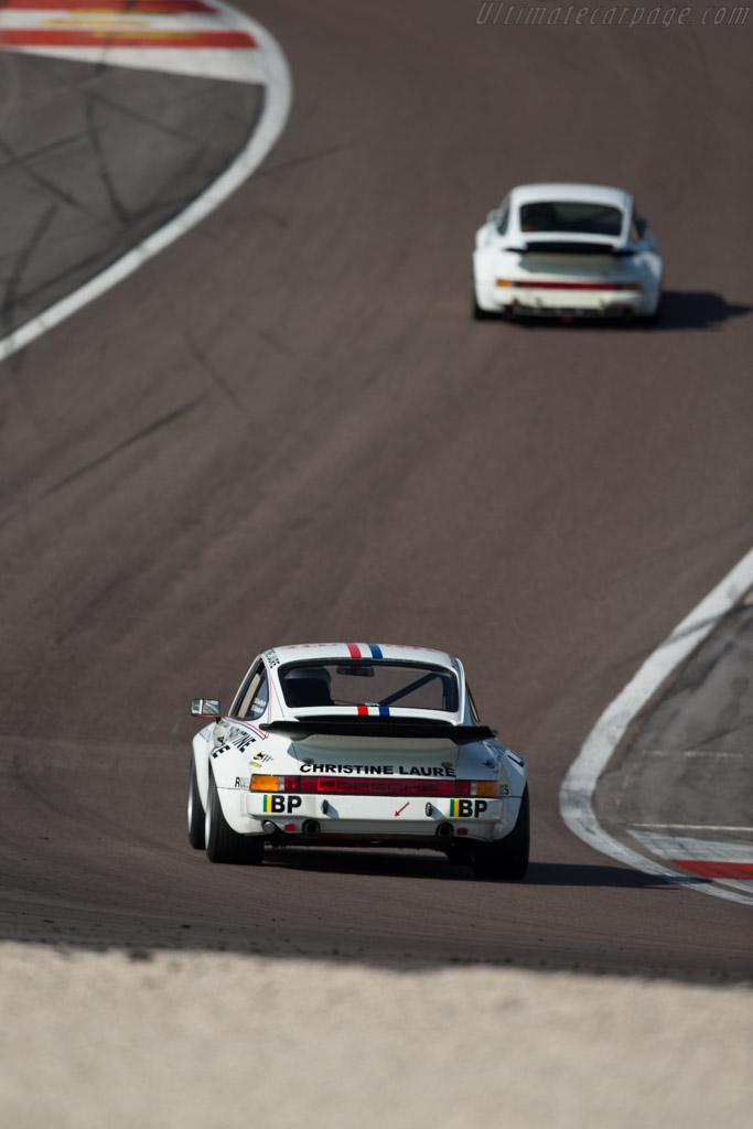 Porsche 911 Carrera RS 3.0 - Chassis: 911 460 9107 - Driver: Christophe van Riet / Fred Bouvy  - 2015 Grand Prix de l'Age d'Or