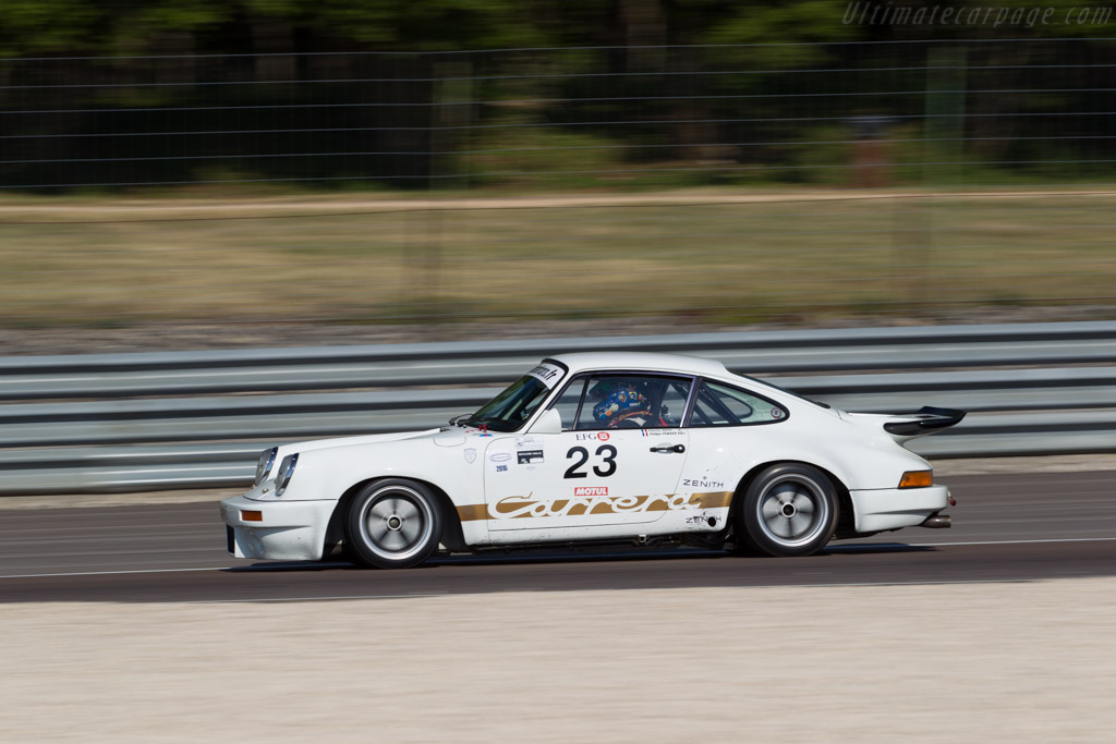 Porsche 911 Carrera RS 3.0 - Chassis: 911 460 9033 - Driver: Charles Rupp / Philippe Peauger  - 2015 Grand Prix de l'Age d'Or