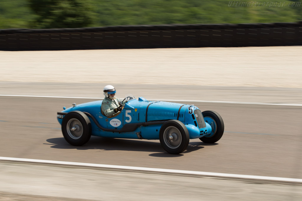 Talbot Lago T26 SS - Chassis: 90202 - Driver: Richard Pilkington  - 2015 Grand Prix de l'Age d'Or