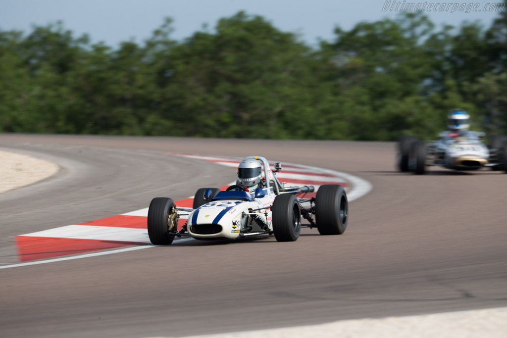 Tecno F3 - Chassis: T00326 - Driver: Marcus Mussa  - 2015 Grand Prix de l'Age d'Or