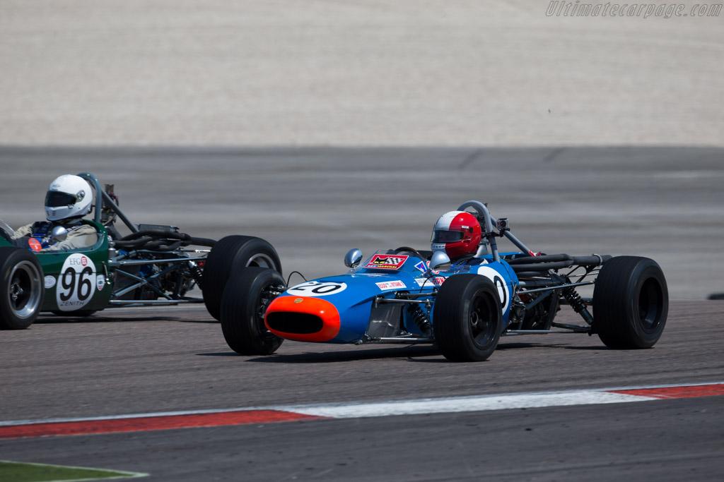 Tecno F3 - Chassis: T00210 - Driver: Thierry Gallo  - 2015 Grand Prix de l'Age d'Or