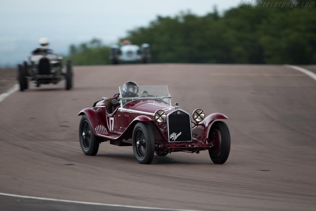 Alfa Romeo 8C 2300 MM  - Driver: Martin Halusa  - 2016 Grand Prix de l'Age d'Or