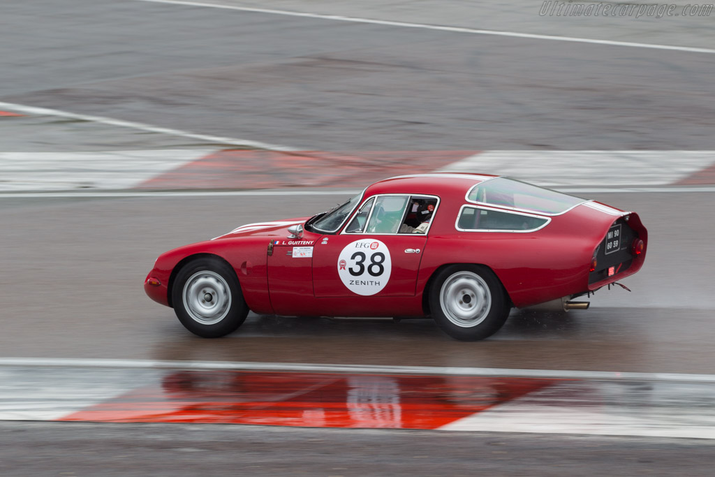 Alfa Romeo TZ - Chassis: AR750098 - Driver: Lucien Guitteny  - 2016 Grand Prix de l'Age d'Or