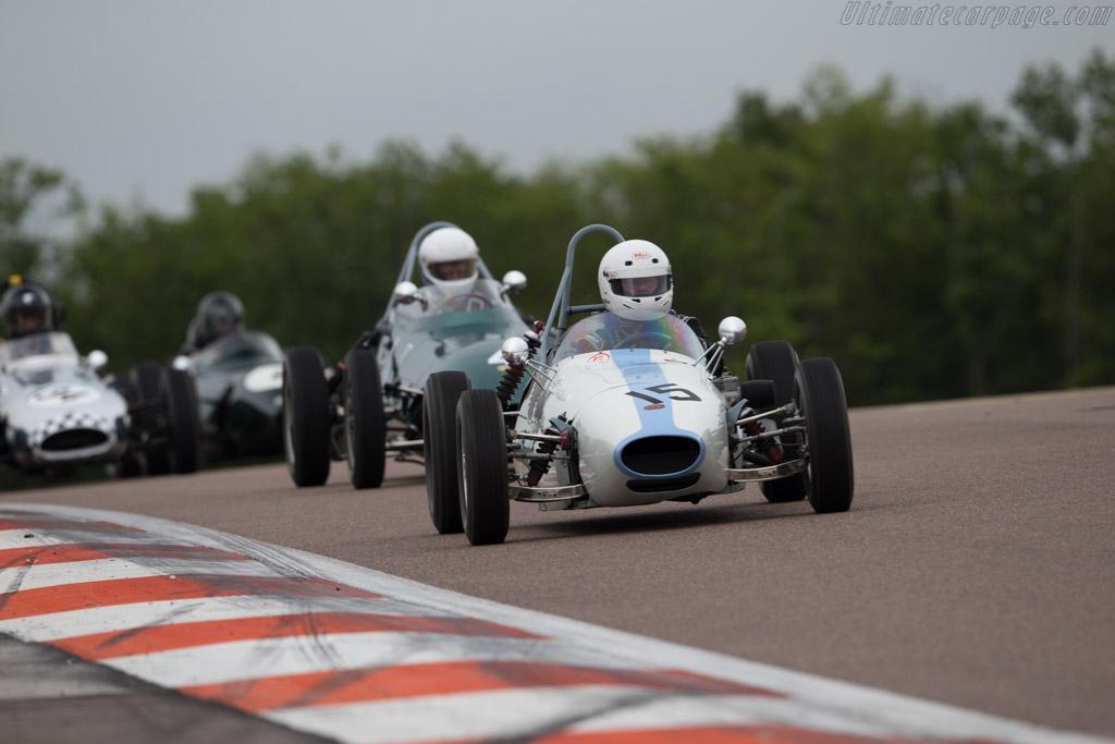 BMC Mk1  - Driver: Ian Phillips  - 2016 Grand Prix de l'Age d'Or