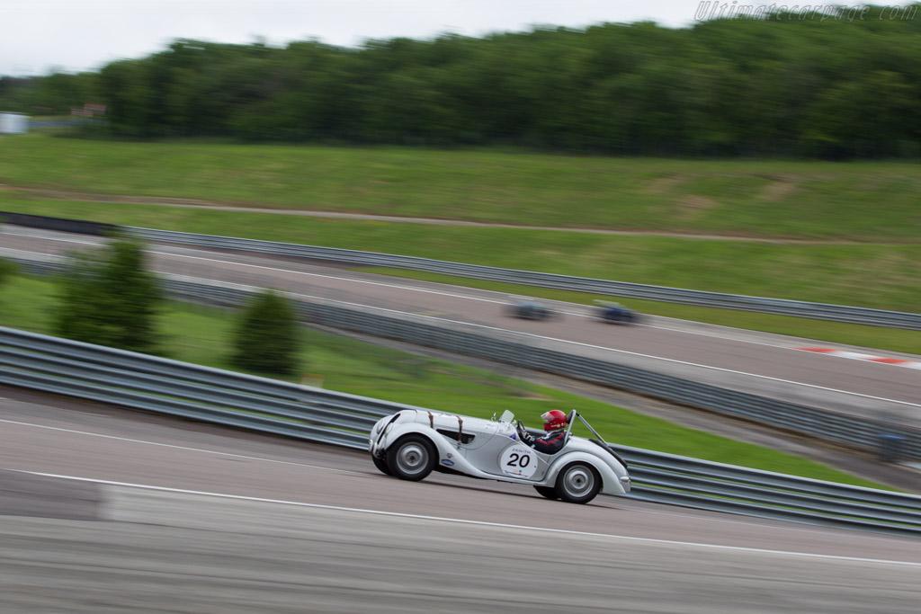 BMW 328 - Chassis: 85244 - Driver: Peter Mulder  - 2016 Grand Prix de l'Age d'Or
