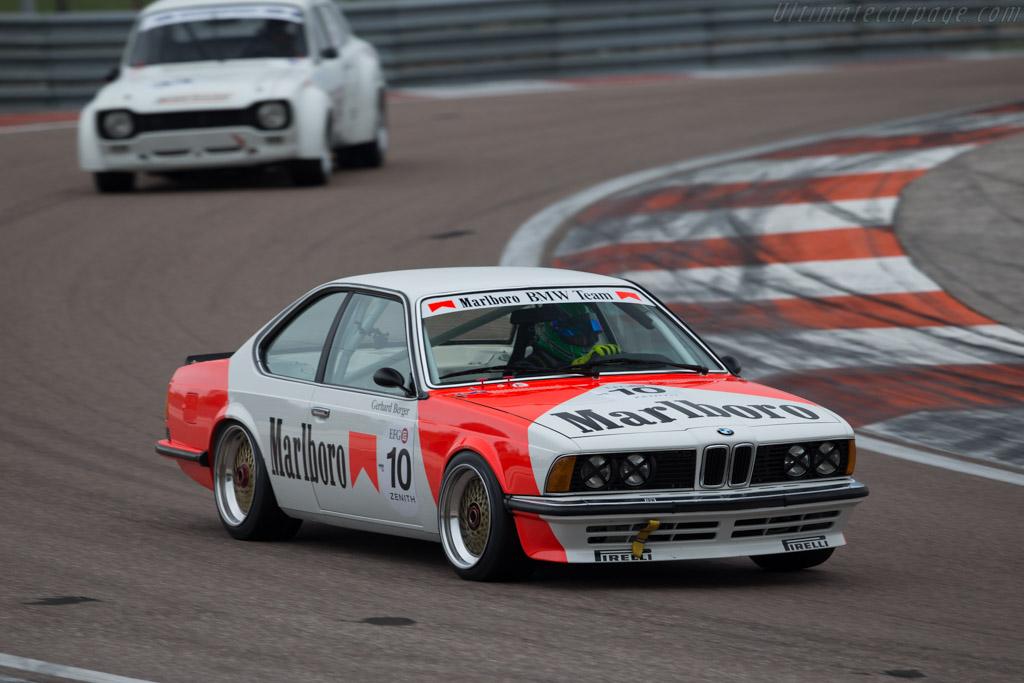 BMW 635 CSi  - Driver: Richard Hope / Geoff Steel  - 2016 Grand Prix de l'Age d'Or
