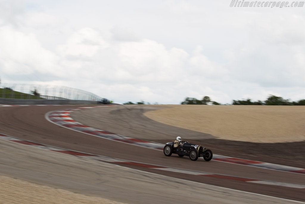 Bugatti Type 51  - Driver: Thierry Lafont  - 2016 Grand Prix de l'Age d'Or