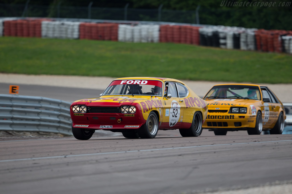 Ford Capri RS 2600 - Chassis: GAECLE42482 - Driver: Yves Scemama ...