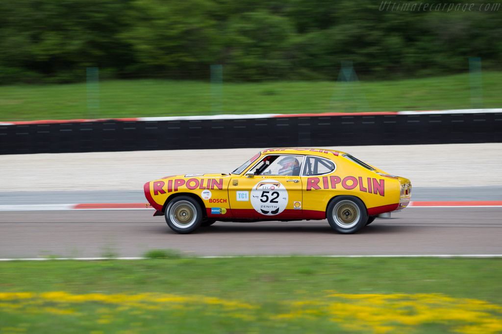 Ford Capri RS 2600 - Chassis: GAECLE42482 - Driver: Yves Scemama  - 2016 Grand Prix de l'Age d'Or