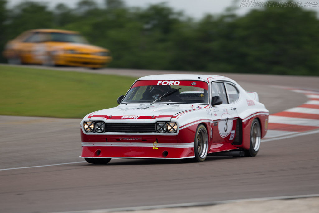 Ford Capri RS Cosworth  - Driver: Grant Tromans / Richard Meaden  - 2016 Grand Prix de l'Age d'Or