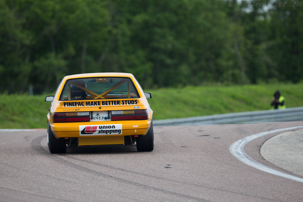 Ford Mustang GT Group A - Chassis: 1FABP23MXEF171869 - Driver: David Huxley / Nigel Greensall  - 2016 Grand Prix de l'Age d'Or