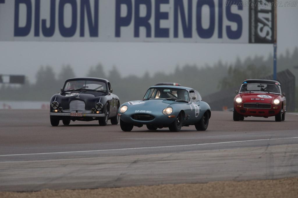 Jaguar E-Type - Chassis: 887277 - Driver: Serge Delpla / Ghislain Borelly - 2016 Grand Prix de l'Age d'Or