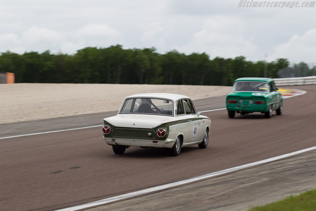 Lotus Cortina - Chassis: BA74FL59096 - Driver: Charles Firmenich  - 2016 Grand Prix de l'Age d'Or