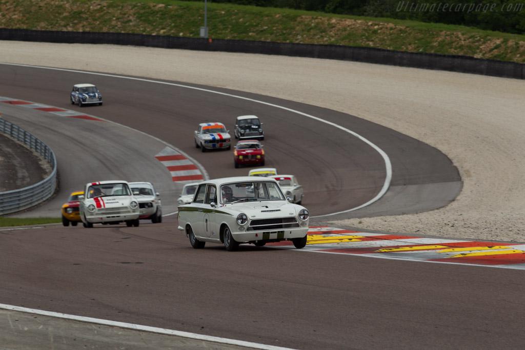 Lotus Cortina - Chassis: Z74C066290M - Driver: Steve Soper / David Cuff  - 2016 Grand Prix de l'Age d'Or