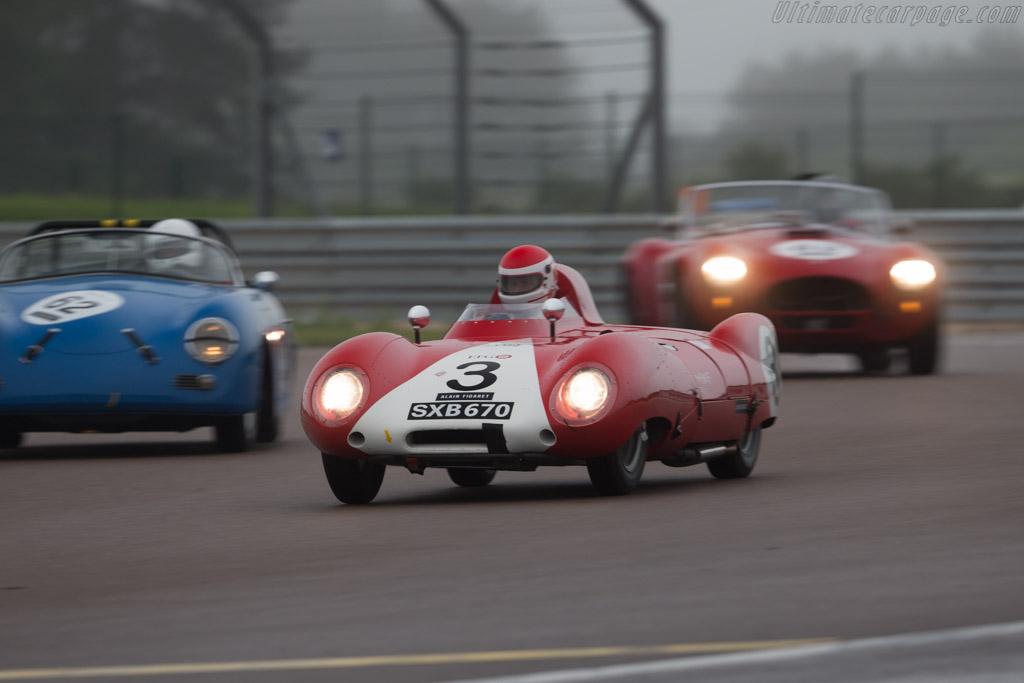 Lotus Eleven - Chassis: 168 - Driver: Serge Kriknoff  - 2016 Grand Prix de l'Age d'Or