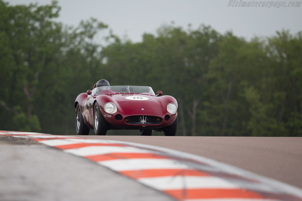 Maserati 300S - Chassis: 3082 - Driver: Martin Halusa  - 2016 Grand Prix de l'Age d'Or