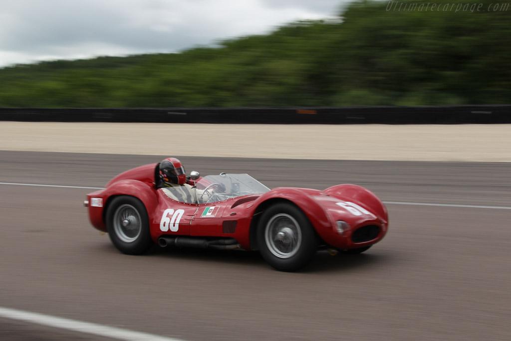 Maserati Tipo 60 Birdcage - Chassis: 2466 - Driver: Guillermo Fierro  - 2016 Grand Prix de l'Age d'Or