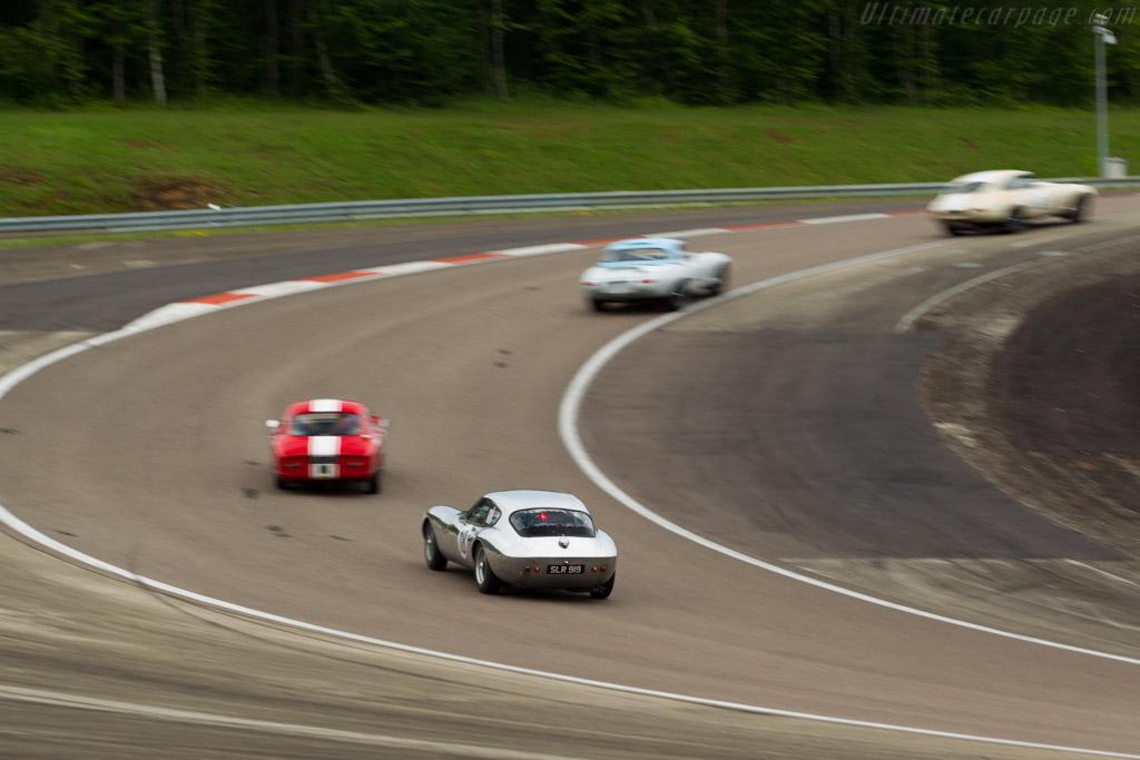 Morgan +4 SLR - Chassis: SLR4 - Driver: John Emberson / Bill Wykeham  - 2016 Grand Prix de l'Age d'Or