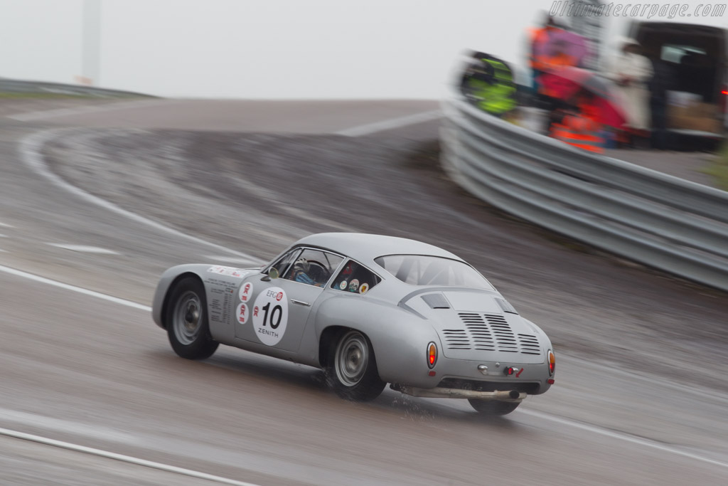 Porsche 356 Gtl Chassis 1010 Driver Peter Vogele