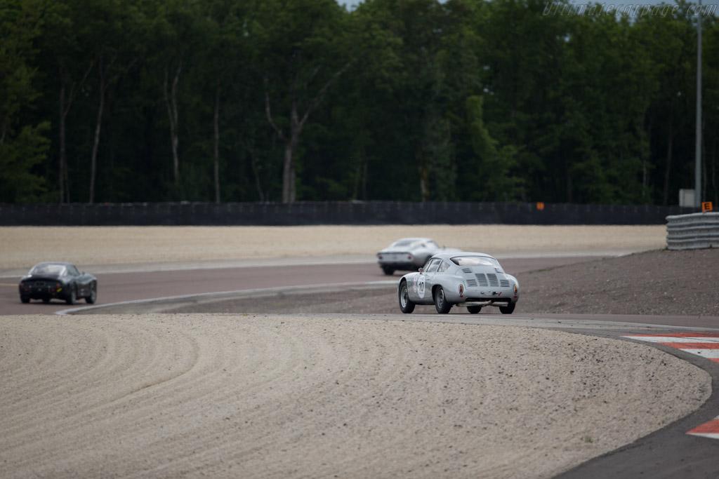 Porsche 356 GTL - Chassis: 1010 - Driver: Peter Vogele  - 2016 Grand Prix de l'Age d'Or