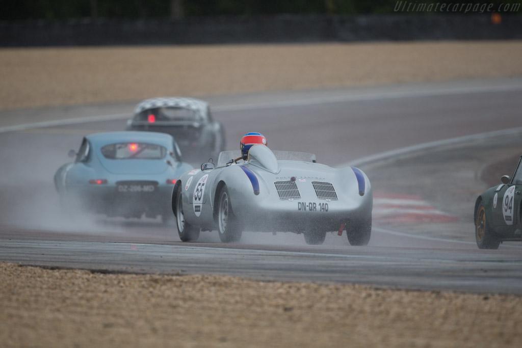 Porsche 550A - Chassis: 550A-0143 - Driver: Jean-Philippe Grand / Gerard Larrousse  - 2016 Grand Prix de l'Age d'Or