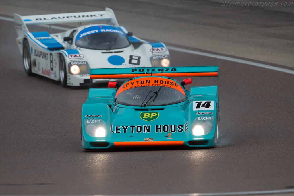 Porsche 962CK6 - Chassis: 962-118 T-1 - Driver: Tommy Dreelan / Aaron Scott  - 2016 Grand Prix de l'Age d'Or