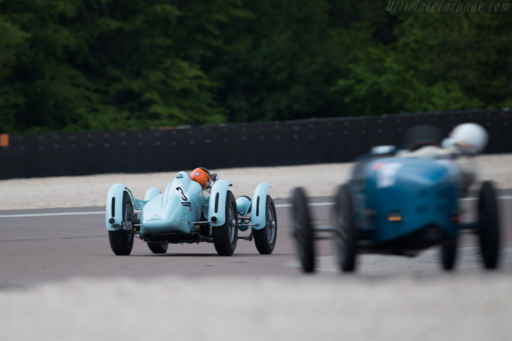 Talbot Lago Monoplace Decalee - Chassis: 90130 - Driver: Christian Traber  - 2016 Grand Prix de l'Age d'Or