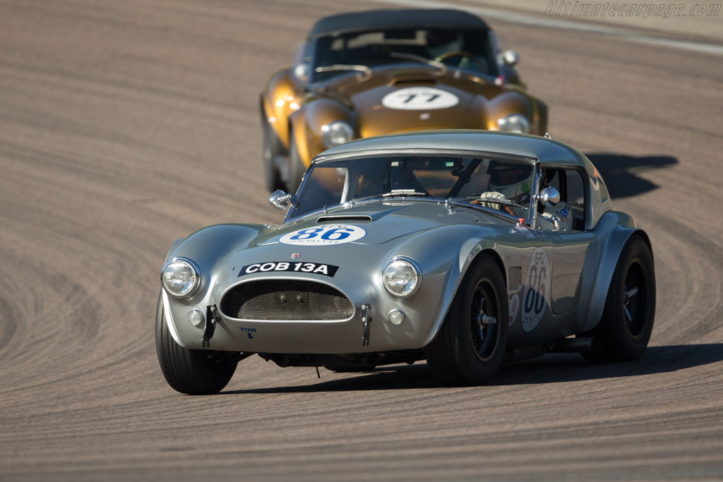 AC Shelby Cobra - Chassis: CSX2157 - Driver: Andrew Beverley  - 2017 Grand Prix de l'Age d'Or