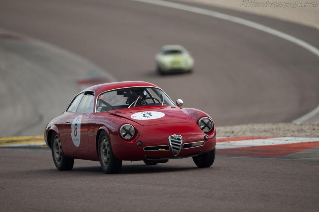 Alfa Romeo Giulietta SZ Coda Tronca - Chassis: AR10126 00184 - Driver: Xavier Galant  - 2017 Grand Prix de l'Age d'Or