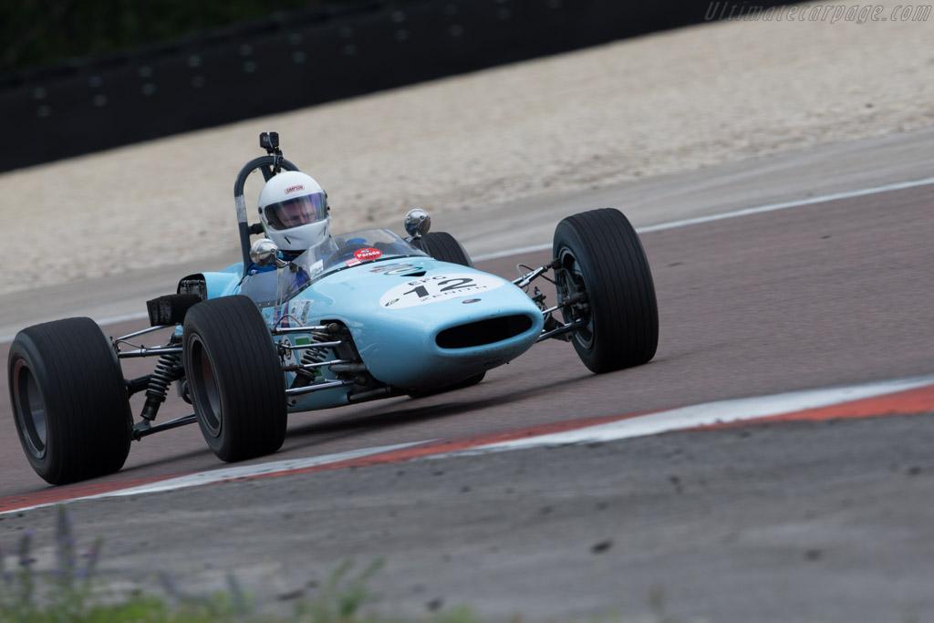 Brabham BT21C - Chassis: F2-21-66 - Driver: Wayne Wilson  - 2017 Grand Prix de l'Age d'Or