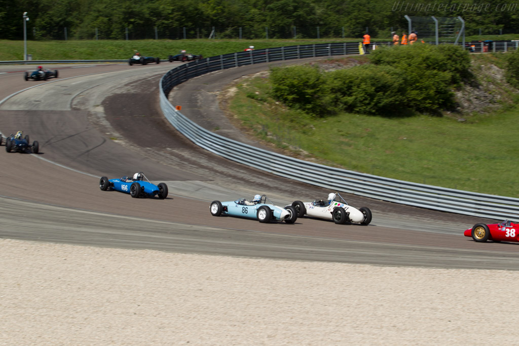 Brabham BT6  - Driver: Caroline Abbou Rossi de Montelera  - 2017 Grand Prix de l'Age d'Or