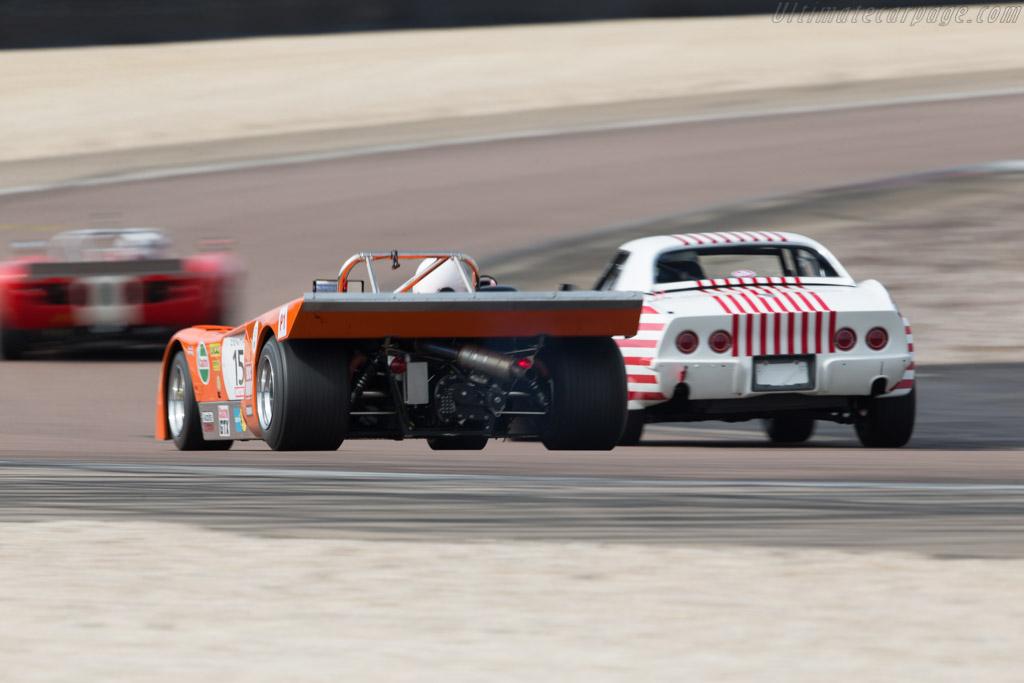 Chevron B19 - Chassis: B19-71-4 - Driver: John Emberson / Bill Wykeham  - 2017 Grand Prix de l'Age d'Or