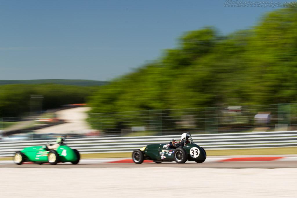 Cooper T23 - Chassis: Mk2-6-53 - Driver: Chris Phillips  - 2017 Grand Prix de l'Age d'Or