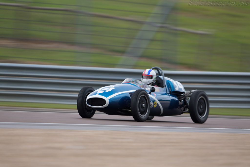 Cooper T43 - Chassis: F2-15-57 - Driver: John Bussy  - 2017 Grand Prix de l'Age d'Or