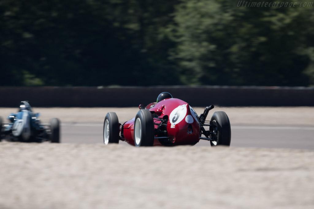 Cooper T45  - Driver: Michel Baudoin  - 2017 Grand Prix de l'Age d'Or