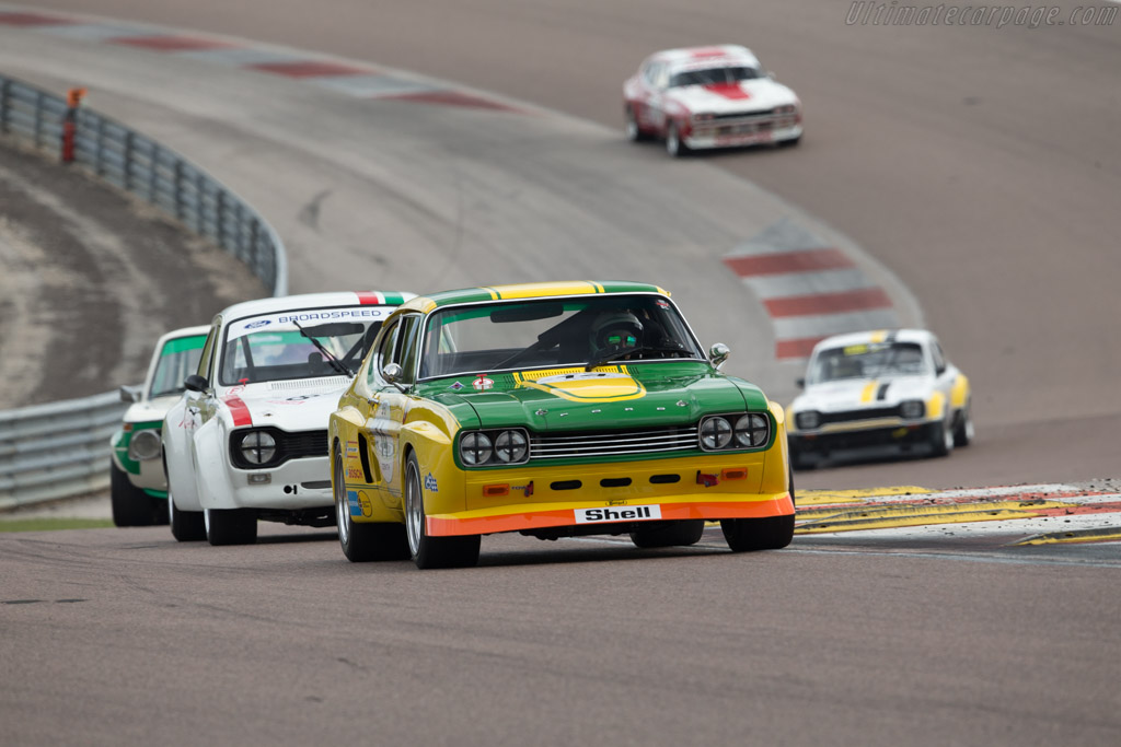Ford Capri RS 2600 - Chassis: GAECMR57537 - Driver: Carlo Vogele / Yves Vogele  - 2017 Grand Prix de l'Age d'Or