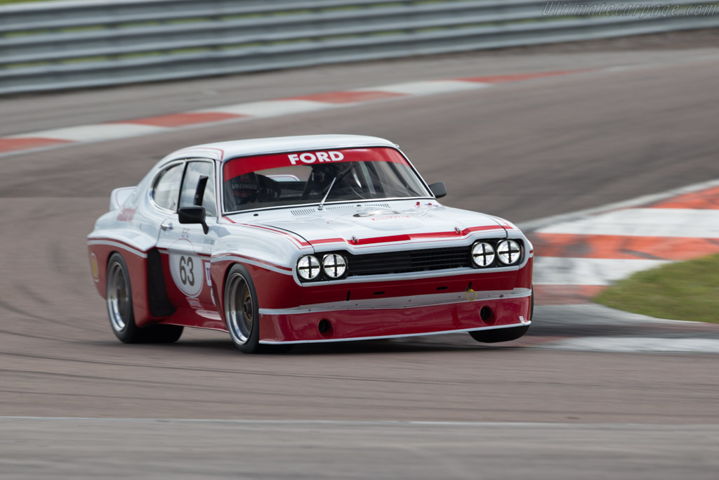 Ford Capri RS 3100  - Driver: Gerard Lopez / Richard Meaden  - 2017 Grand Prix de l'Age d'Or