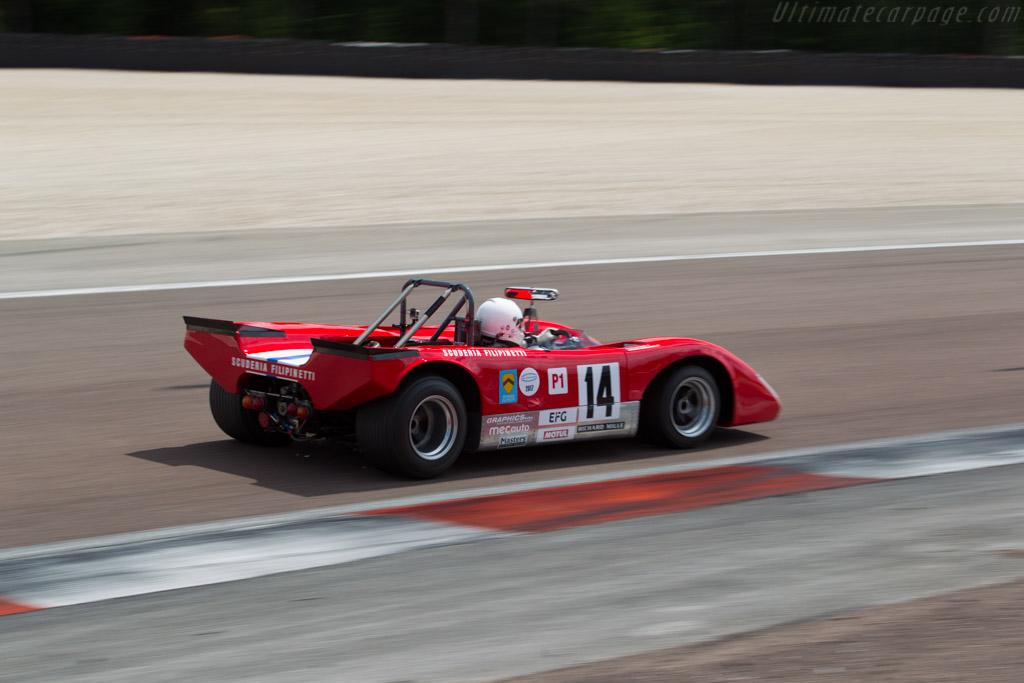 Lola T212 - Chassis: HU18 - Driver: Mauro Poponcini  - 2017 Grand Prix de l'Age d'Or