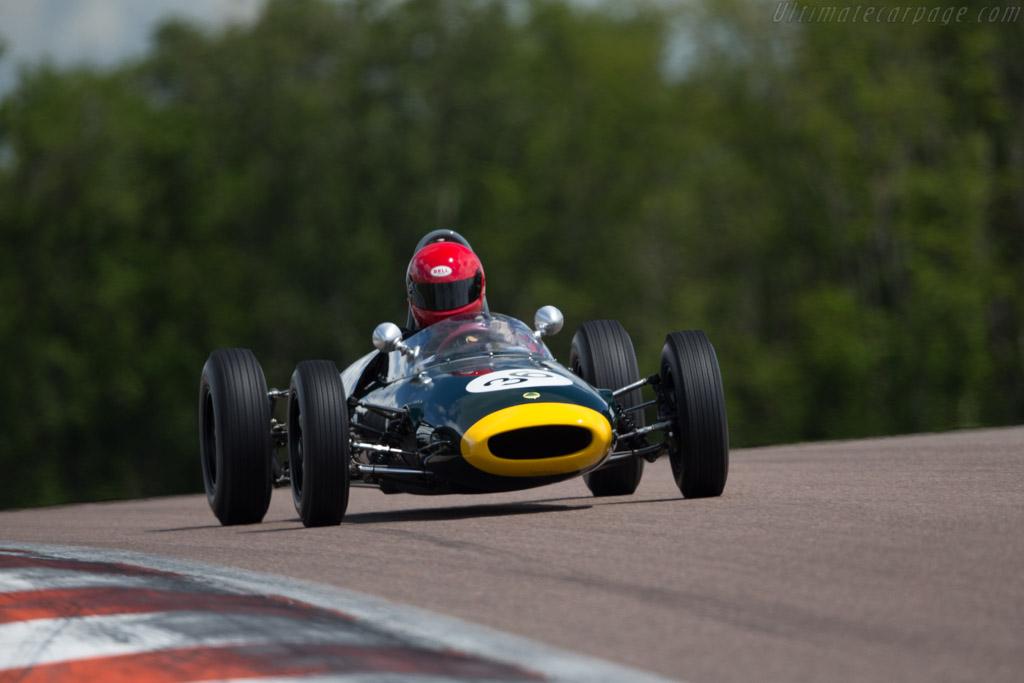 Lotus 20/22  - Driver: Tony Best  - 2017 Grand Prix de l'Age d'Or
