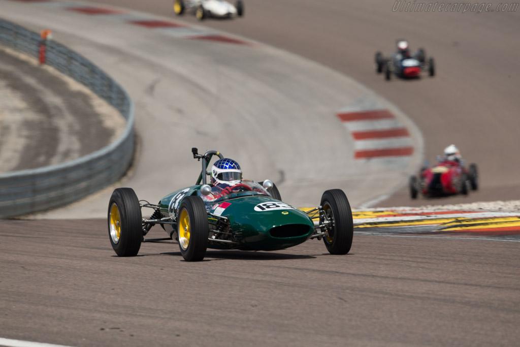 Lotus 22  - Driver: Martin Walford  - 2017 Grand Prix de l'Age d'Or