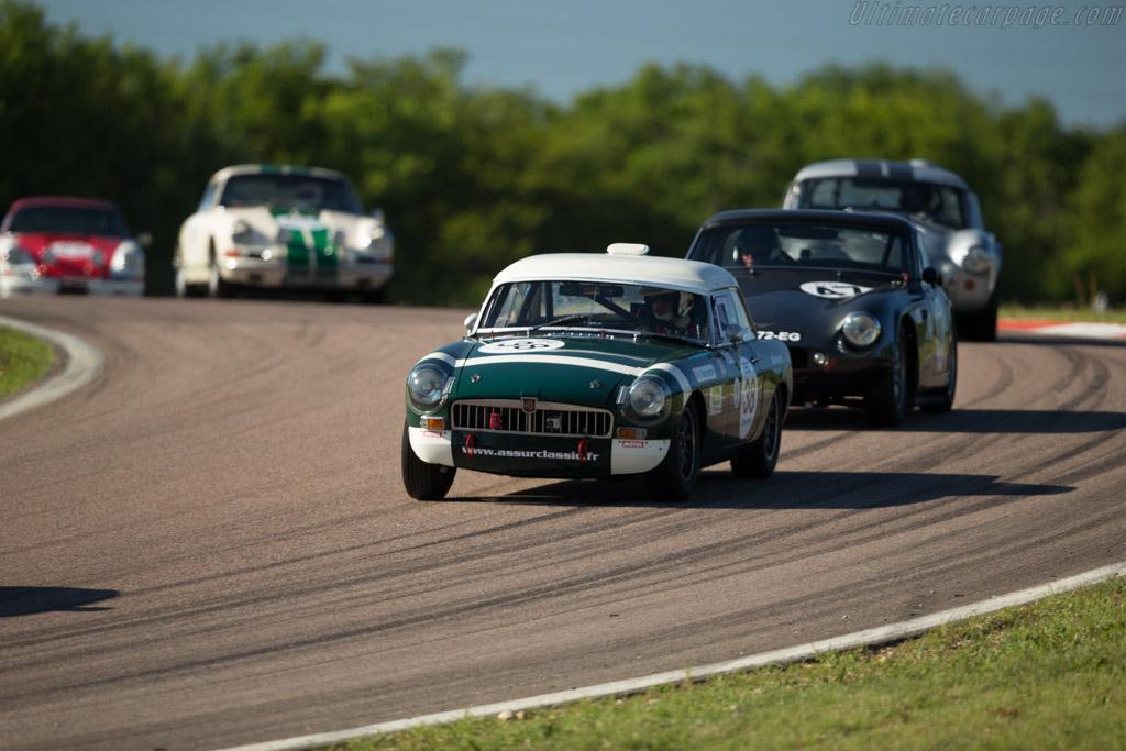MG B - Chassis: GHN3/50971 - Driver: Jean-Michel Godet / Nicolas Berthy  - 2017 Grand Prix de l'Age d'Or