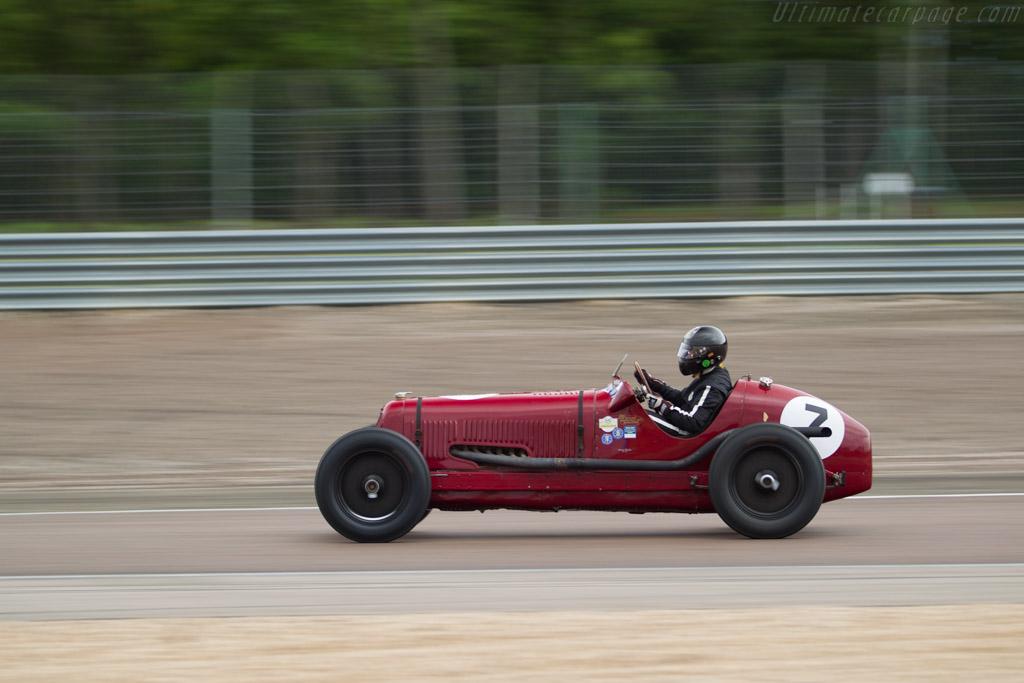 Maserati 8CM - Chassis: 3020 - Driver: Stefan Rettenmaier  - 2017 Grand Prix de l'Age d'Or