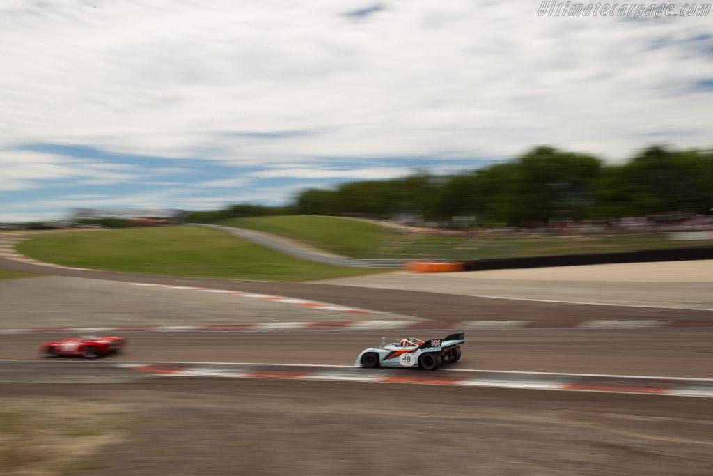 Porsche 908/03 - Chassis: 908/03-001 - Driver: Peter Vogele  - 2017 Grand Prix de l'Age d'Or
