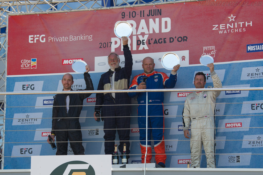 The Podium    - 2017 Grand Prix de l'Age d'Or